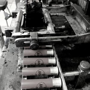 La production des cartouches Prévot